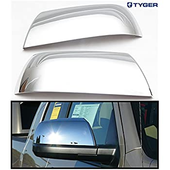 Triple Chrome plated Mirror Cover without Turn Signal for 13-15 NISSAN SENTRA
