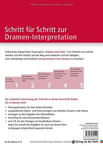 Dramatik Arbeitsblätter Für Den Deutschunterricht Schritt Für