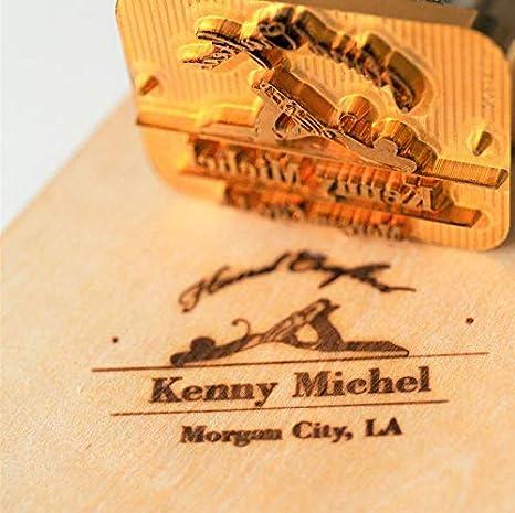 Wedding Branding Iron Wood Burning Stamp Custom Branding Iron for Wood Branding Iron for Food BBQ 1 Custom Hot Stamp Leather Brand Iron
