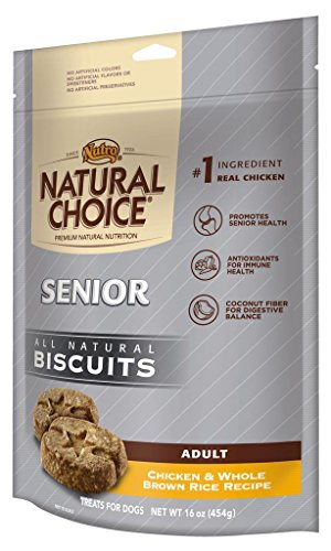 Natural Choice Senior Biscuits Chicken And Whole Brown Rice Recipe - 16 Oz. (454 G)