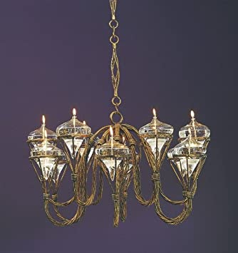 Bago Luma WLO912 12 Light Victorian Oil Lamp Chandelier