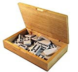 Craftsman Dominoes in Solid Wood Case thumbnail