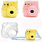 Changeshopping For FujiFilm Instax Mini8 Camera Thin Crystal Clear PC Hard Case Cover