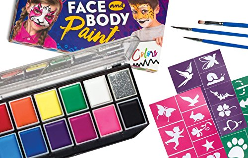 Make it Up The Complete Face and Body Paint Kit, FDA Compliant