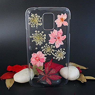Galaxy S5 Case, HYAIZLZ(TM)Plastic Transparent Border Slim Protective Back Case for Samsung Galaxy S5 I9600,Design 13 by HYAIZLZ