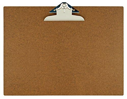 - 17x11 Hardboard Clipboard with 6