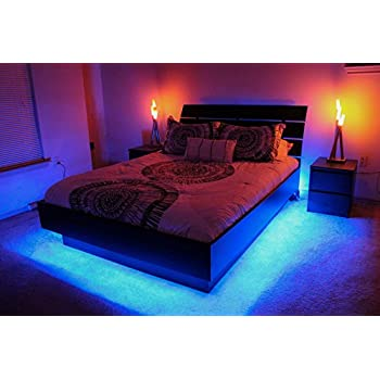 amazon com under furniture under bed led lighting kit 8ft