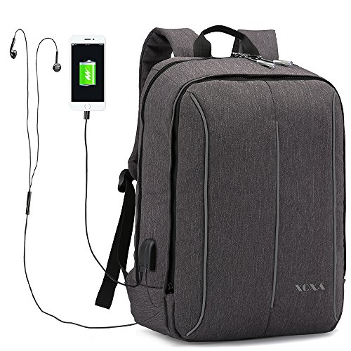 17.3 Inch Laptop Backpack With USB Charging Port , Water ...