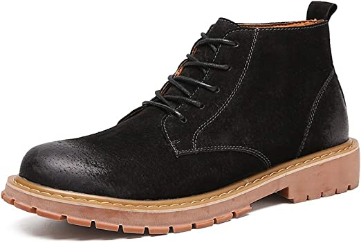 Mens Casual Dress Boots Fashion