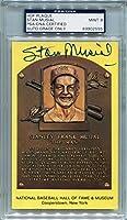Stan Musial St. Louis Cardinals PSA/DNA Certified Authentic Autograph - Hall of Fame Plaque Postcard
