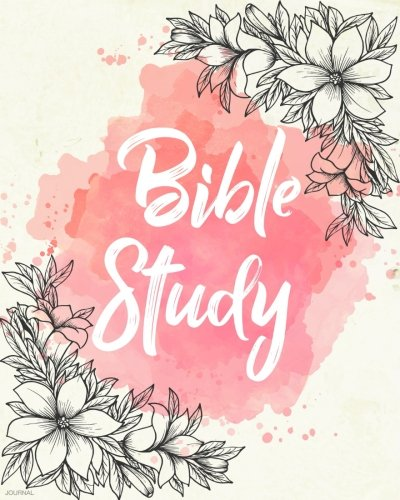 Bible Study Journal: Creative Christian Workbook - A Simple Guide To Journaling Scripture Personal Notebook,Bible Study Workbook (Watercolor Red) (Christian Journaling Daily) (Volume 1)