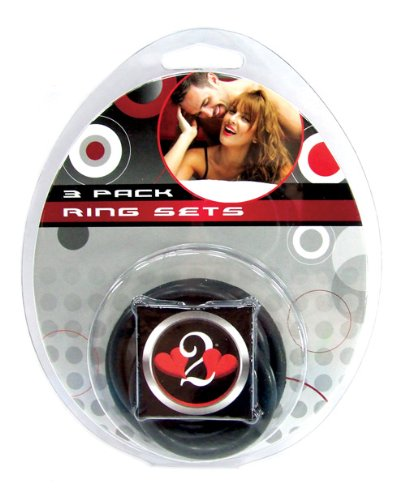 Heart-2-Heart-Nitrile-Cock-Ring-3-Pack-Black
