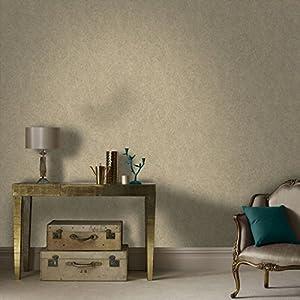 Boutique Twist Beige/Gold Wallpaper