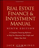 img - for Real Estate Finance and Investment Manual 9th (ninth) Edition by Cummings, Jack published by Wiley (2008) book / textbook / text book