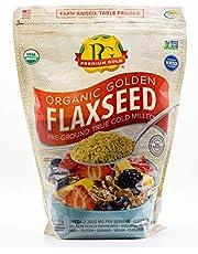 Premium Gold Organic Ground Flax Seed