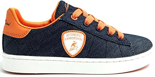 lamborghini-competition-denim-orange-kids-leather-trainers-shoes