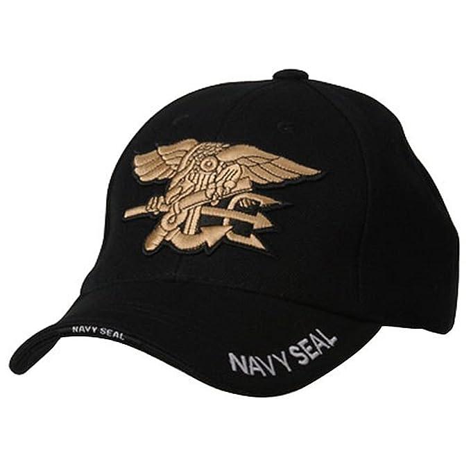 Amazon.com  Military Cap-NAVY SEAL  Military Apparel Accessories ... b9394e9e638