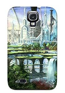 PdcnJZx1877mICJA Futuristic Garden Fashion Tpu Case Cover For Galaxy S4, Series
