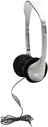 Hamilton Buhl Schoolmate On-Ear Stereo Headphone with in-line Volume