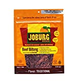 Joburg - Gourmet Beef Biltong South African Jerky - Glatt - Kosher (OU) - Traditional (Case of 24) (2 oz each)