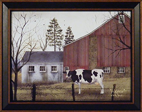 Holstein by Billy Jacobs 15x19 Cow Barn Farm - Primitive Decor Pictures