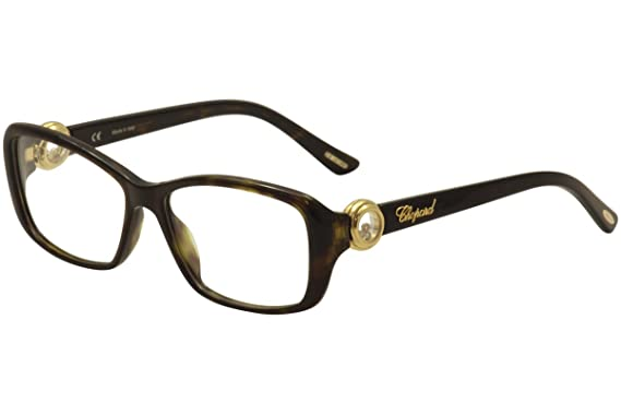 87f40113c45d Amazon.com  Chopard Eyeglasses VCH 140S 140 S 0722 Havana Gold Full ...