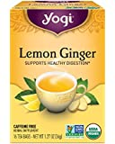 Yogi Tea, Lemon Ginger, 16 Count, Packaging May Vary