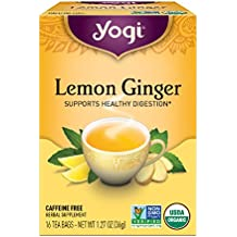 Yogi Tea, Lemon Ginger, 16 Count (Pack of 6), Packaging May Vary