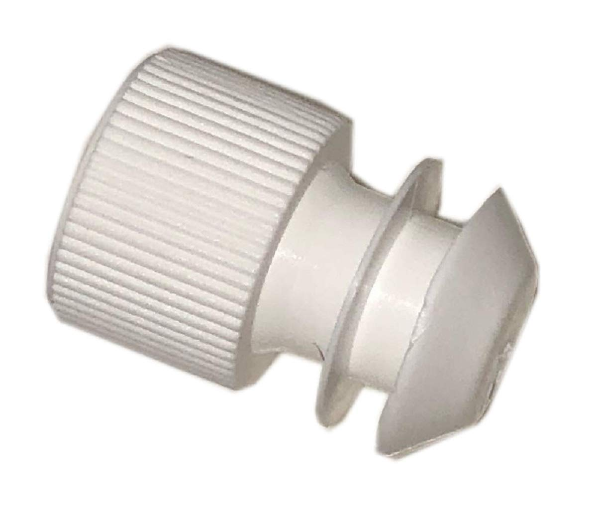 White Winged Stoppers to fit 15-16mm provette, 100