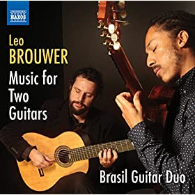 Amazon.com: Brouwer: Music for 2 Guitars: Brasil Guitar