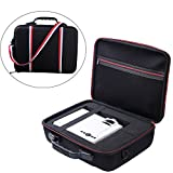 Zaracle Portable Carry case Protective Pouch Bag Storage Bag Projector Case For DBPOWER T21 Upgraded LED Projector and Accessories