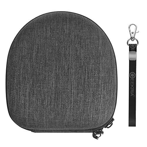 Headphones Case for Women Small Folding On-Ear Headphones Kanen I39, Ailihen I35, SoundIntone Ms200, Liboer, Marvotek On-ear and more / Hard Shell Carrying Case / Headset Travel Bag