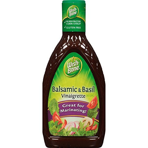 Wish-Bone Salad Dressing, Balsamic and Basil Vinaigrette, 15 Ounce (Dressing Balsamic Vinaigrette)