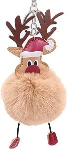 PULABO - Llavero de Navidad con diseño de Papá Noel