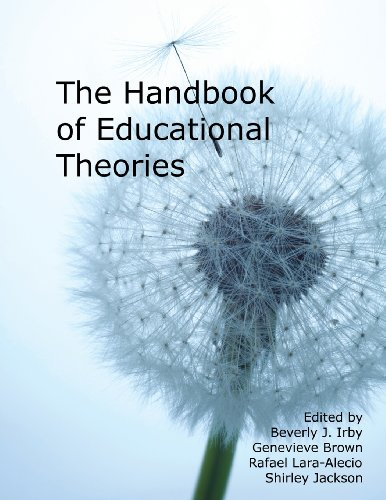 Book cover from Handbook of Educational Theories for Theoretical Frameworks by Clive Barker