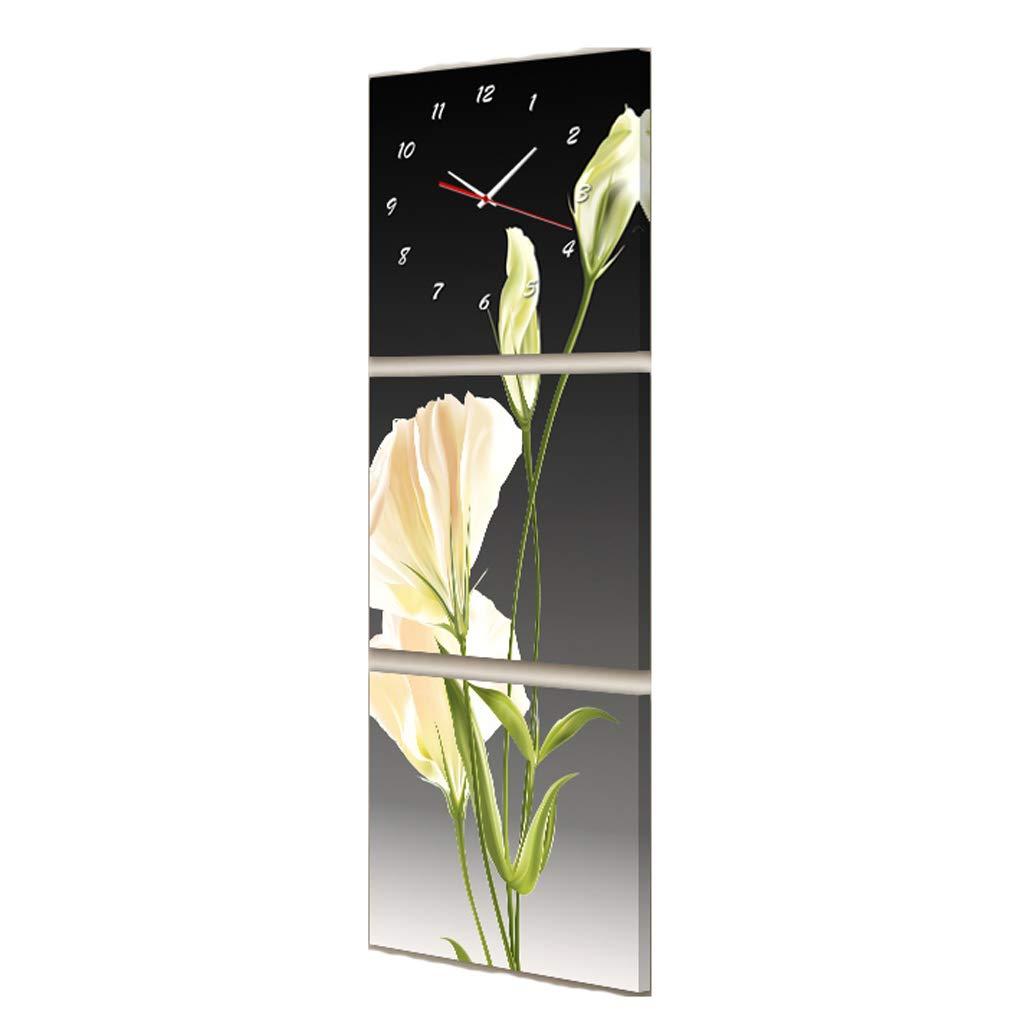 JHEY El Reloj Triple de la Sala de Estar del Porche, la Caja del medidor para Bloquear Las Pinturas Verticales (Color : B, tamaño : 40 * 40cm): Amazon.es: ...