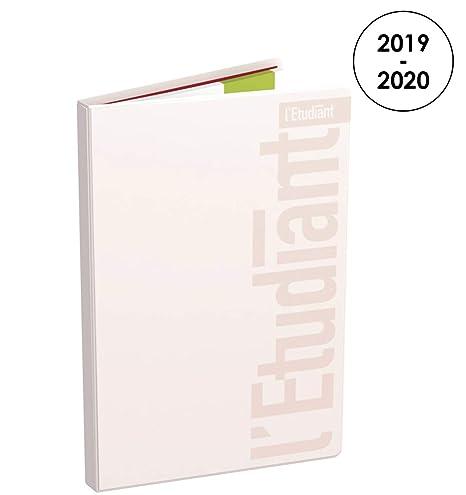 Amazon.com: LÉtudiant 2019-2020 Pastel - Agenda semanal ...