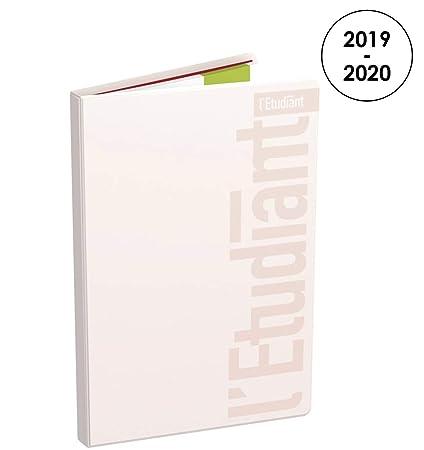 LÉTUDIANT Pastel - Agenda semanal 2019 - 2020 de agosto a ...