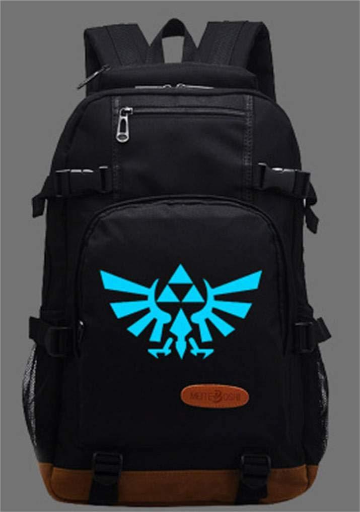 Cosstars The Legend of Zelda Luminoso Anime Mochilas de a Diario Backpack Bolso de Escuela: Amazon.es: Equipaje