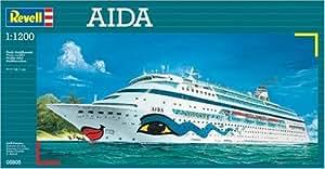 Revell 05805 - Maqueta de buque Aida (escala 1:1200)