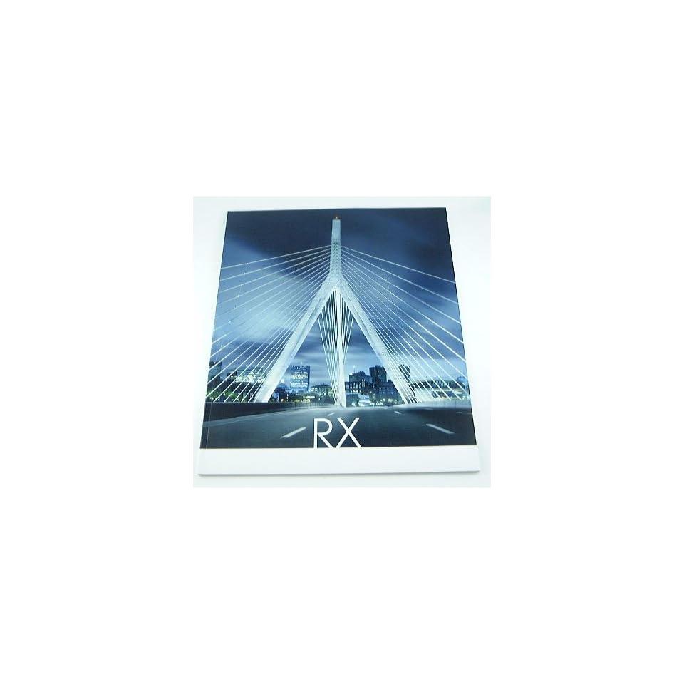 2006 06 Lexus RX Truck SUV BROCHURE RX330 RX350 RX400h