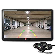 junsun 7 inch Car GPS Navigation Bluetooth 8GB with Rear view Camera FM MP3 MP4 256MB DDR/800MHZ Detailed Maps with Free Updates