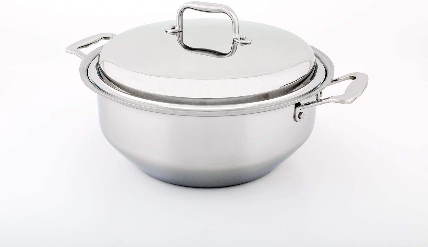 360 Stainless Steel Stock Pot (6 Quart Gourmet), Gourmet Stockpot is Induction Cookware, Handcrafted in the USA, Waterless Cookware, Oven Safe, Stainless Steel Cookware (6 Quart Gourmet)