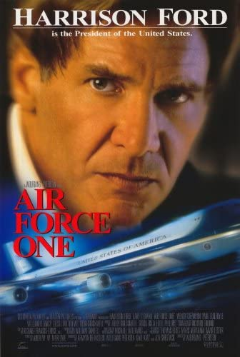 Amazon.com: Air Force One 11 x 17 Movie Poster - Style A: Lithographic  Prints: Posters & Prints