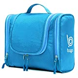 Bago Hanging Toiletry Bag For Men & Women - Toiletries Travel Organizer (Blue)