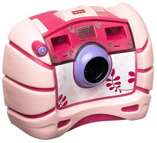 Fisher-Price Kid-Tough Waterproof Digital Camera Pink ()
