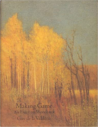 Making game an essay on woodcock