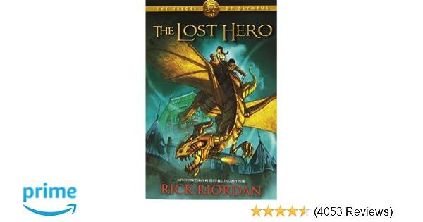 The Lost Hero Heroes Of Olympus Book 1 Rick Riordan