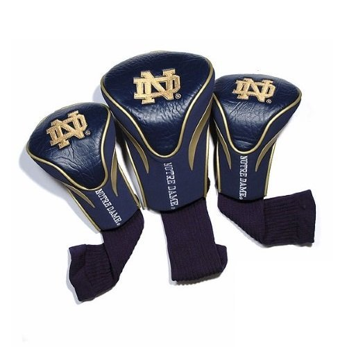 NCAA Notre Dame Fighting Irish 3 Pack Contour Head (Notre Dame Driver Headcovers)