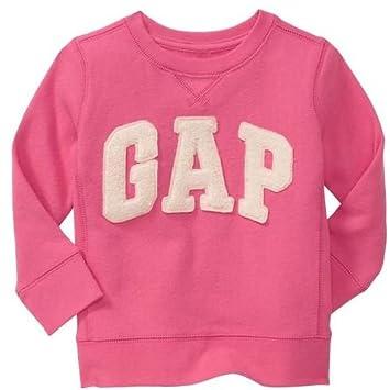61a37e591eff4 GAP(ギャップ)baby GAP baby GAP kids ロゴ トレーナー 長袖 (ピンク色・